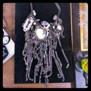 Chain mail Alice Secret Garden necklace